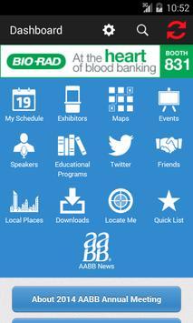 2014 AABB Annual Meeting apk screenshot