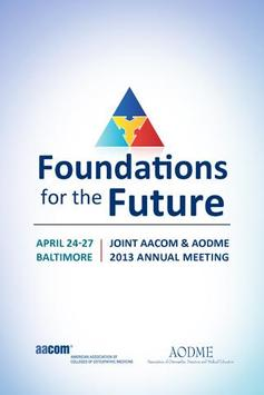 Joint AACOM & AODME 2013 poster