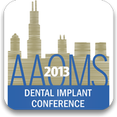 AAOMS 2013 Dental Implant icon
