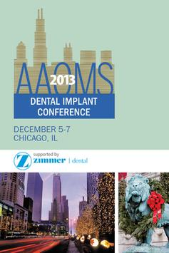 AAOMS 2013 Dental Implant poster