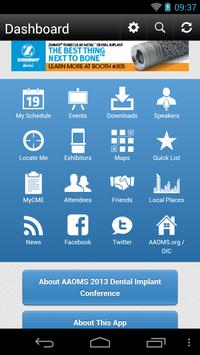 AAOMS 2013 Dental Implant apk screenshot