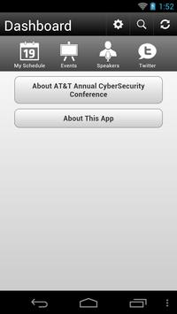 AT&T Annual CyberSecurity Con poster