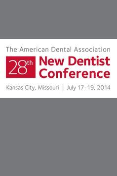 ADA 28th New Dentist Conf poster