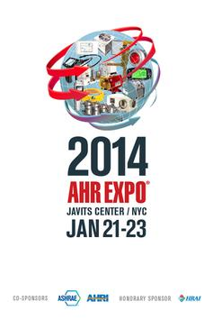 2014 AHR Expo poster