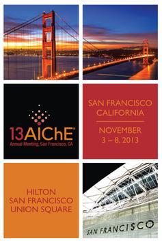 2013 AIChE Annual Meeting poster