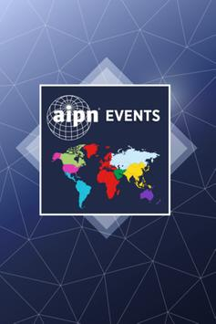 AIPN Events poster