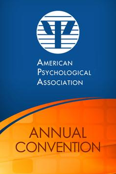 APA Annual Convention poster