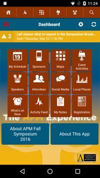 APM Fall Symposium 2016 apk screenshot