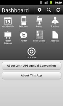 24th APS Annual Convention poster