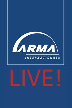 ARMA Live! Conference & Expo poster