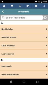 Conf on Educational Leadership apk screenshot