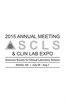 2015 ASCLS Annual Meeting poster