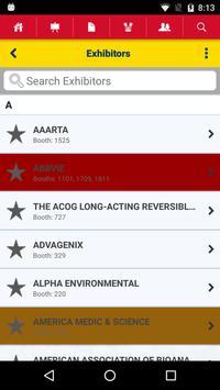 ASRM Events Gateway apk screenshot