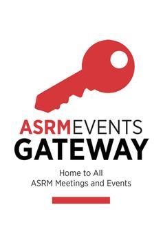 ASRM Events Gateway poster