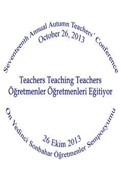 Sonbahar Öğretmenler 2013 poster