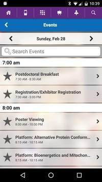 Biophysical Society Events apk screenshot