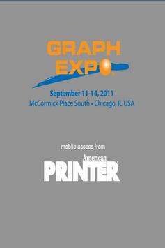 GRAPH EXPO 2011 poster