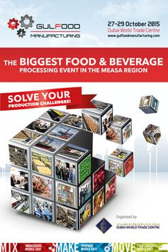 Gulfood Manufacturing 2015 poster