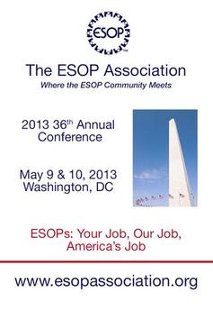 The ESOP Association 36th Conf poster