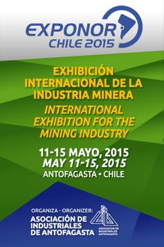 Exponor Chile 2015 poster