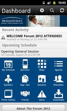 The Forum 2012 poster