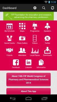 74th FIP World Congress apk screenshot