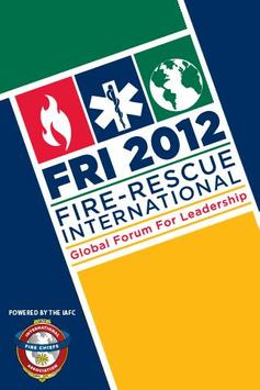 Fire-Rescue International 2012 poster