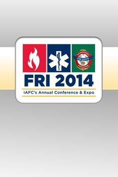 Fire-Rescue International 2014 poster