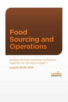 Food Sourcing & Operations '13 poster