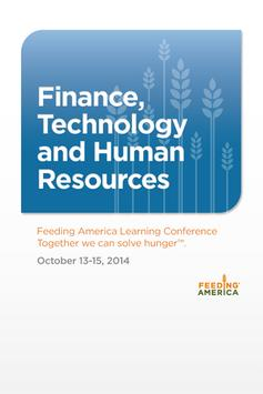 Finance, Technology & HR 2014 poster