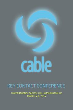 NCTA's 2014 Key Contact Con. poster