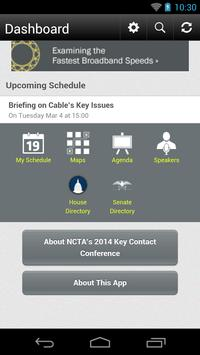 NCTA's 2014 Key Contact Con. apk screenshot