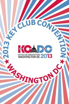 2013 Key Club Convention poster