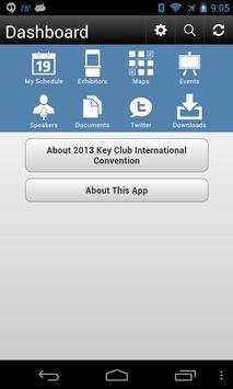 2013 Key Club Convention apk screenshot