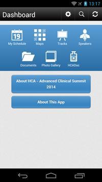HCA - Advanced Summit 2014 apk screenshot