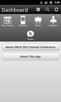 IMCA 2012 Annual Conference poster