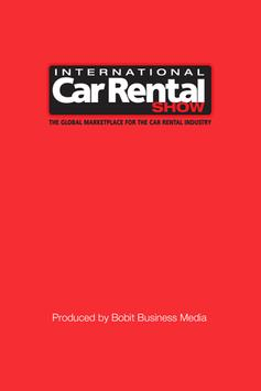 International Car Rental Show poster
