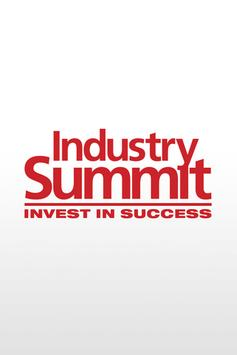 Industry Summit poster