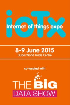 IoTX & Big Data Show 2015 poster