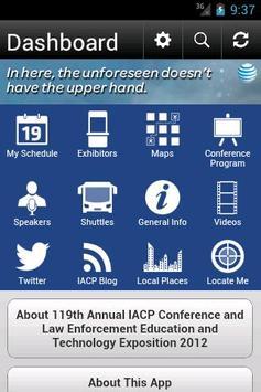119th Annual IACP Conference apk screenshot