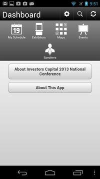 Investors Capital 2013 poster