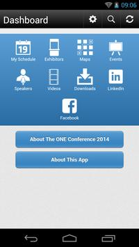 The ONE Conference 2014 apk screenshot