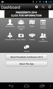 Presidents Conference 2013 apk screenshot