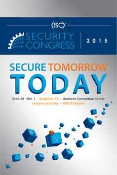 (ISC)² Security Congress 2015 poster