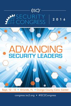 (ISC)² Security Congress 2016 poster