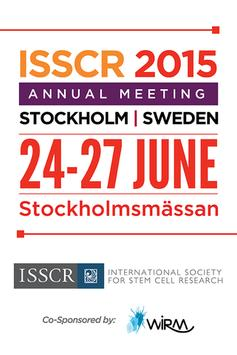 ISSCR 2015 Annual Meeting poster