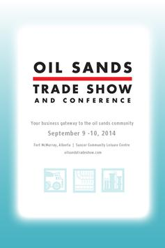 Oil Sands Trade Show & Conf 14 poster