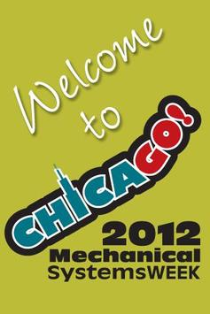 Mechanical Systems WEEK 2012 poster