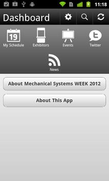 Mechanical Systems WEEK 2012 apk screenshot