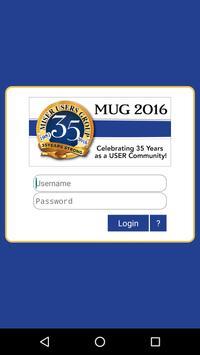MUG 35th Anniversary Conf poster